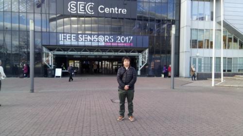 学会会場のSEC